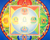 The Mandala of the Five Buddhas